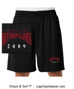 Adult B-Dry Core Shorts by Badger Design Zoom